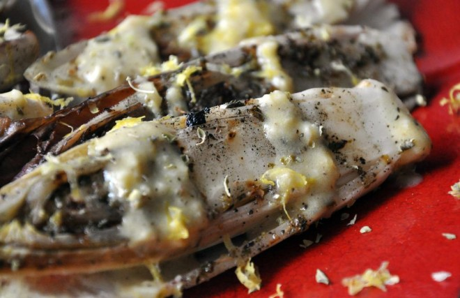 ... herb and balsamic threeovens grilled endive salad grilled endive